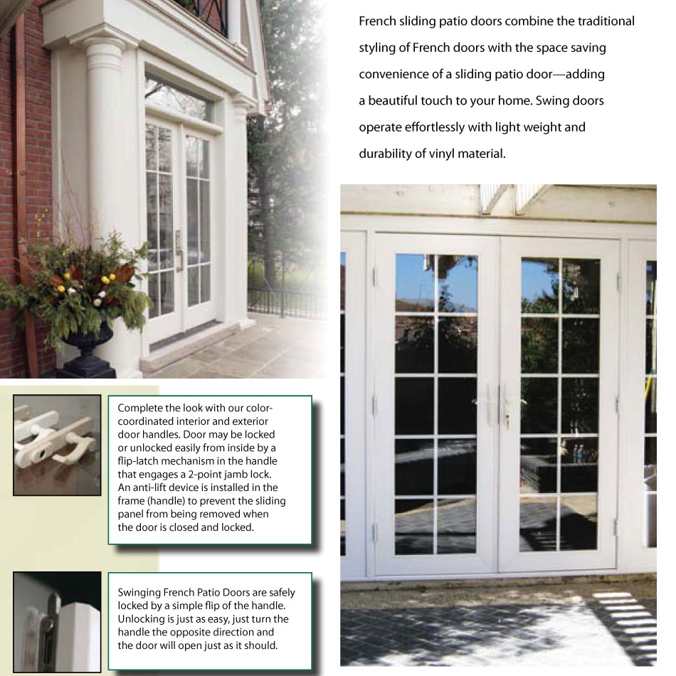 Sliding french door for Sliding door in french