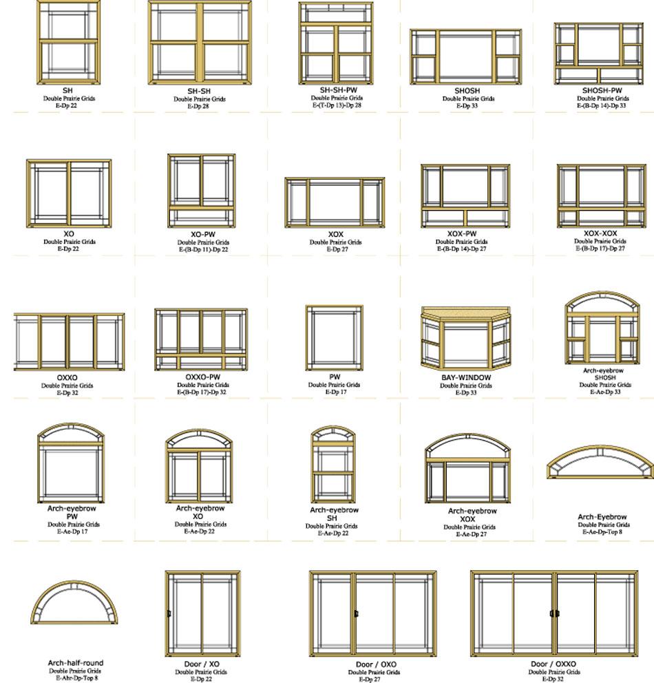 Grid Options Vinyl Window Factory