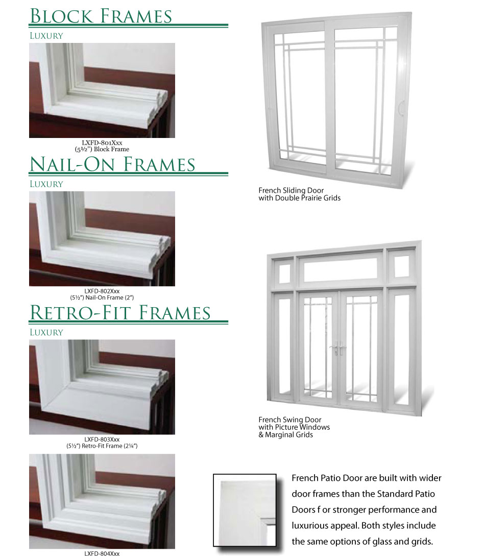 Patio door frames sliding patio doors diy install patio for Outside doors and frames