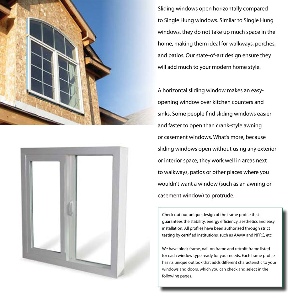 Imperial Sliding Window